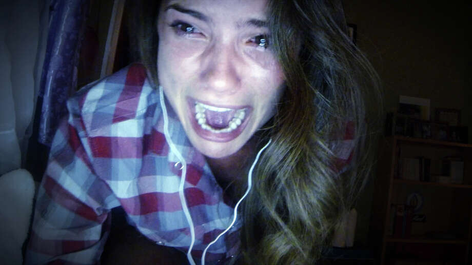 "In this image released by Universal Pictures, Shelley Henning appears in a scene from ""Unfriended."" (Universal Pictures via AP) Photo: Uncredited / Associated Press / Universal Pictures"