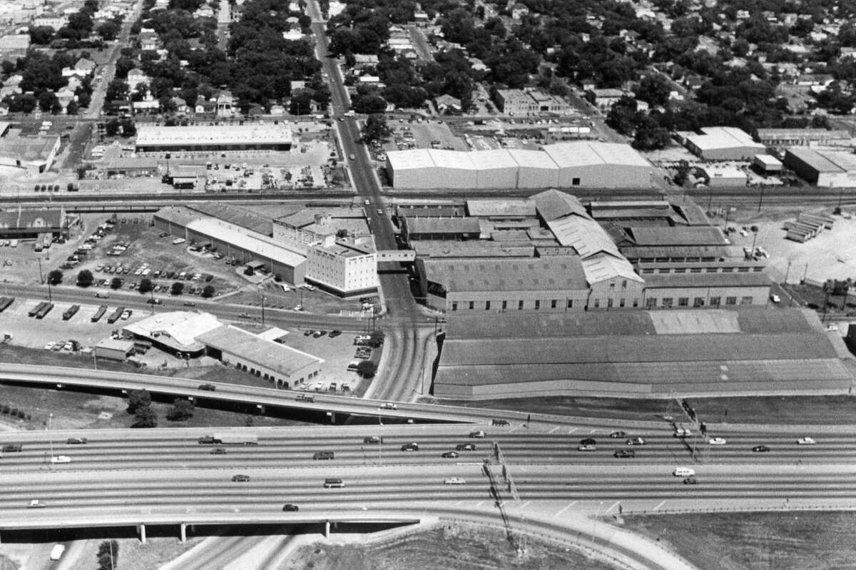 In August of 1987, this was the view of the proposed downtown stadium site.