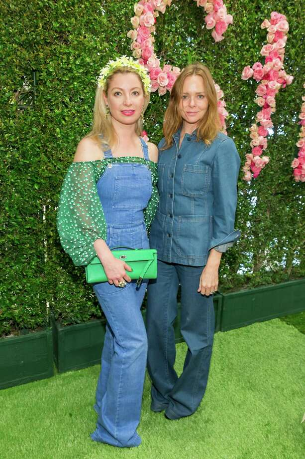 Sonya Molodetskaya and Stella McCartney at the Neiman Marcus hosted luncheon for McCartney on April 8, 2015. Photo: Drew Altizer Photography / DREW ALTIZER PHOTOGRAPHY