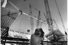 Building the Alamodome
