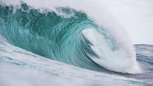 A wave breaks unridden during round 1 of the Drug Aware Margaret River Pro at The Box on April 15, 2015 in Margaret River, Australia.