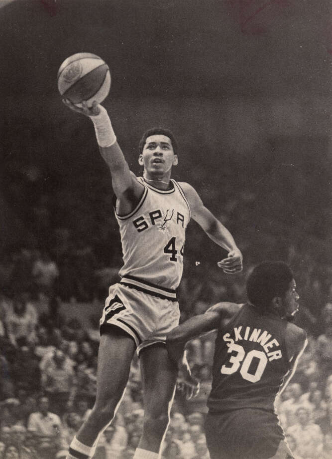 George Gervin and his finger roll helped the San Antonio Spurs survive, first in the ABA and then in the NBA. Photo: Express-News File Photo / SAN ANTONIO EXPRESS-NEWS