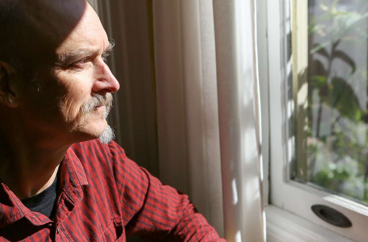Michael Smith, a San Franciscan with celiac disease, in his home on Wednesday, April 15, 2015.