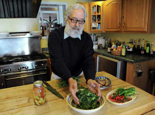 Jim Rua, owner and chef at Cafe Capriccio, in his private kitchen on Wednesday, April 1, 2015, in Albany, N.Y. (Cindy Schultz / Times Union) Photo: Cindy Schultz / 00031257A