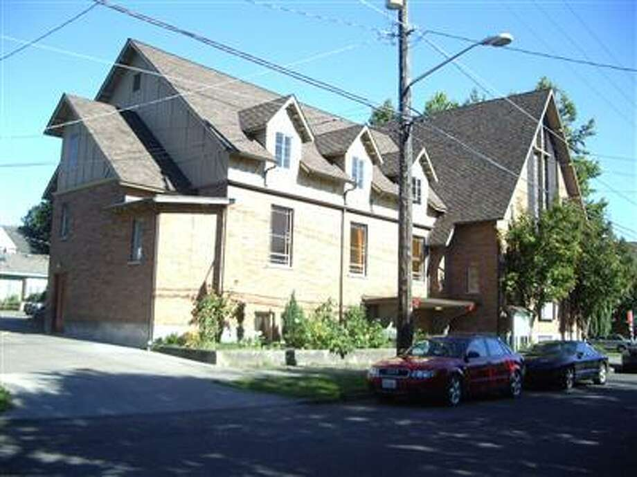 Bethany Lutheran Church in Seattle's Green Lake neighborhood, pictured in a King County Assessor's Office photo.