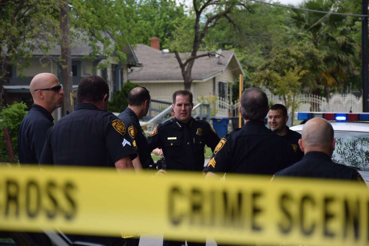 Police are investigating a dead body Wednesday on South Presa Street.