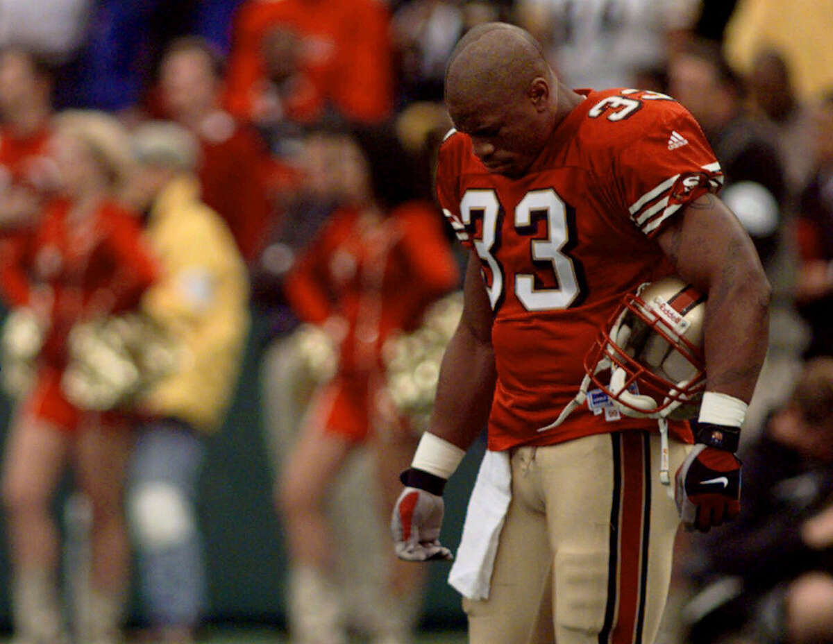 Lawrence Phillips, former NFL running back The athlete: A standout for the Nebraska Cornhuskers, Phillips was the No. 6 overall pick out of Nebraska in 1996 by the St. Louis Rams, but his off-the-field issues prevented him from ever catching on in the NFL. He totaled just 1,453 yards in four NFL seasons with the Rams, Dolphins and 49ers. The crime: Phillips was convicted of felony assault with a deadly weapon and domestic assault charges stemming from an attack on his former girlfriend. He was sentenced to 31 years in prison in a combined term. On April 12, 2015, he was reportedly implicated in the death of his cellmate.
