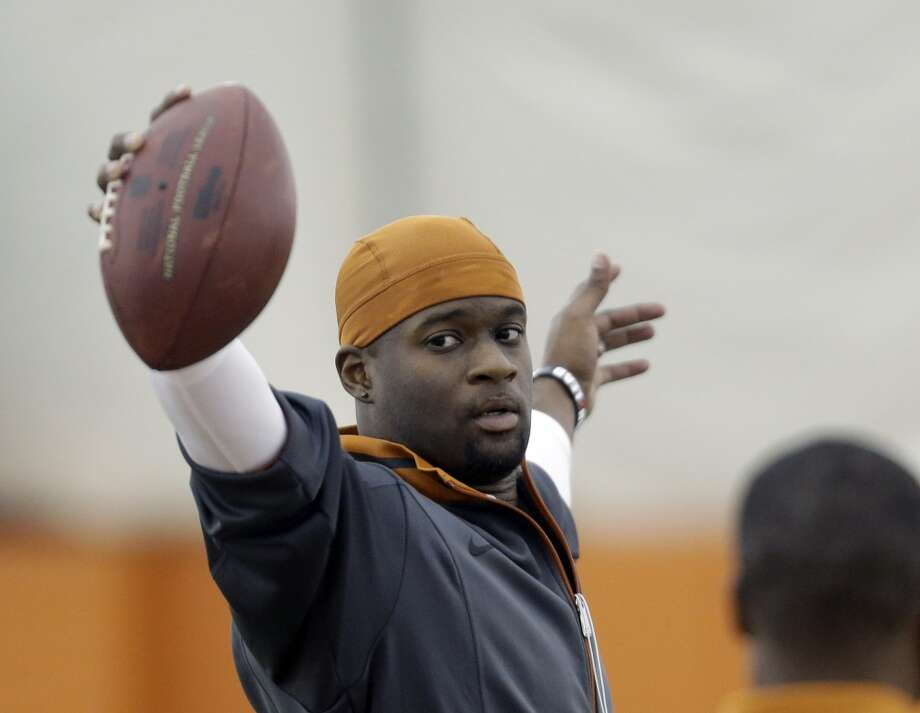 Vince Young, 6 (2006)Note: Young took the test again and scored a 16. Photo: Eric Gay, Associated Press