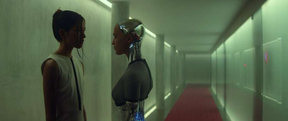 "Still from ""Ex Machina."" (Universal Pictures International) Photo: Handout, McClatchy-Tribune News Service"