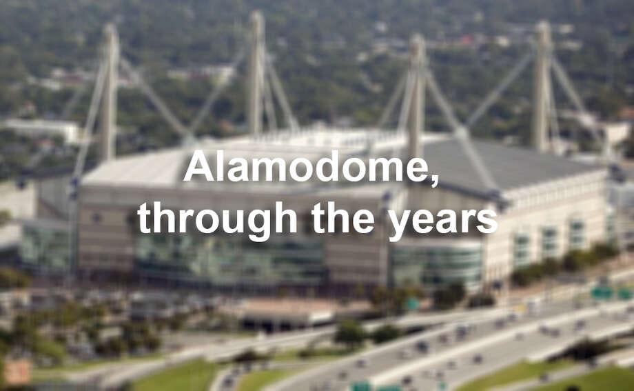 On the 20th anniversary, we pulled together photographs throughout the years of the Alamodome. Photo: San Antonio Express-News