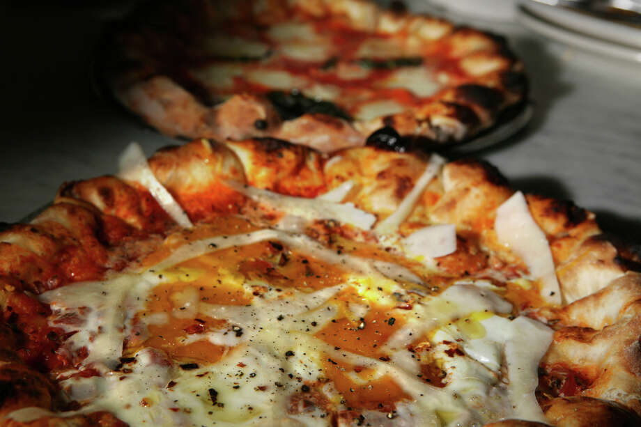 Purgatorio pizza at Pizzeria Delfina in San Francisco. Photo: Lea Suzuki / The Chronicle / SFC