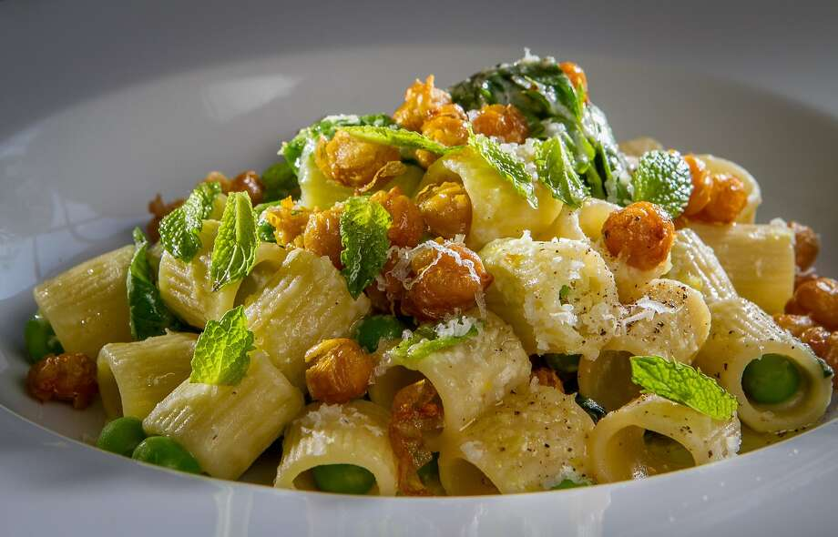 The Mezze Maniche Pasta at Farm Shop in Larkspur, Calif., is seen on Wednesday,  July 3rd, 2013. Photo: John Storey