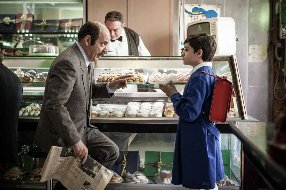 "Arturo (Alex Bisconti) eats his first iris (a Sicilian pastry) in Pierfrancesco Diliberto's ""The Mafia Kills Only in Summer."" Photo: Distrib Films / Distrib Films"