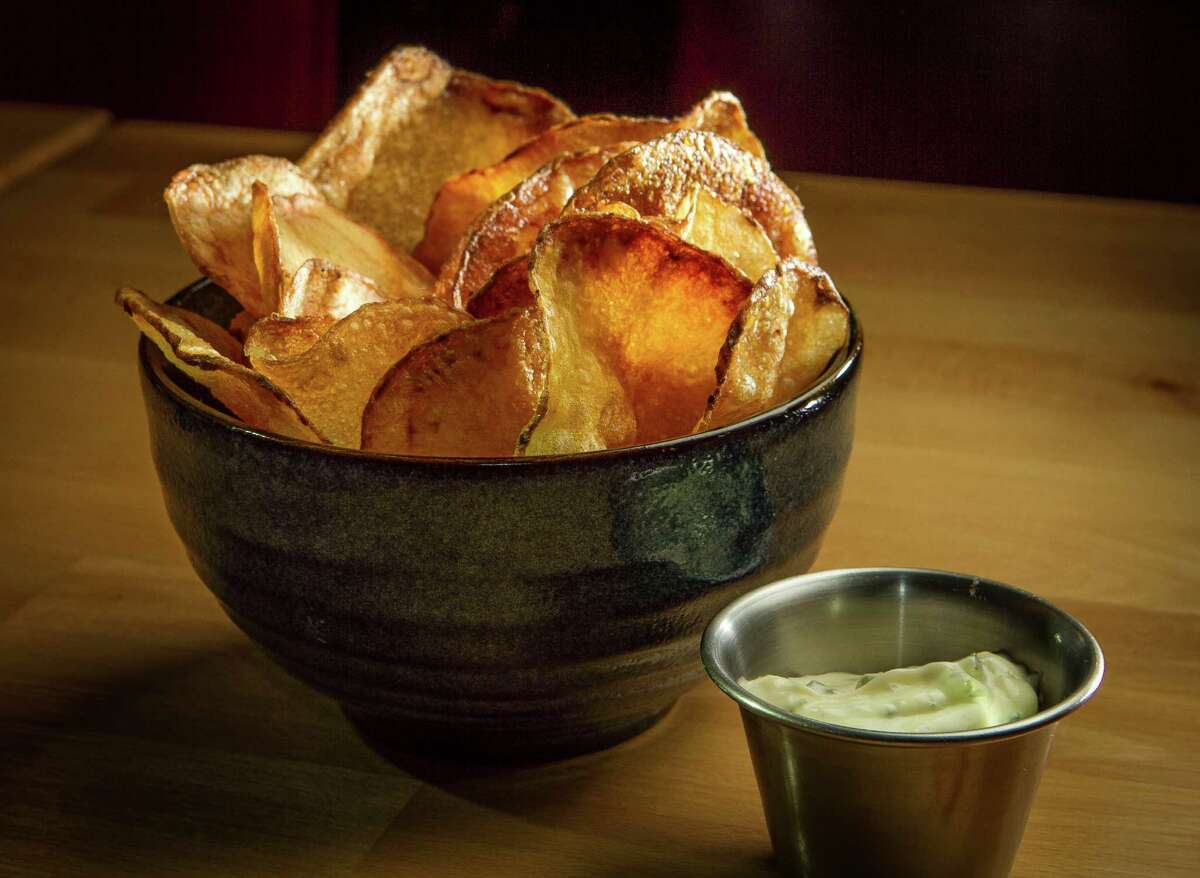 Chips and dip at Hopscotch.