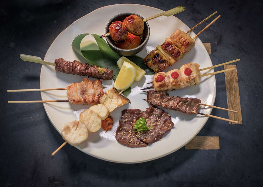 "The ""Tasting of Robata"" at Pabu. Photo: John Storey / Special To The Chronicle / ONLINE_YES"
