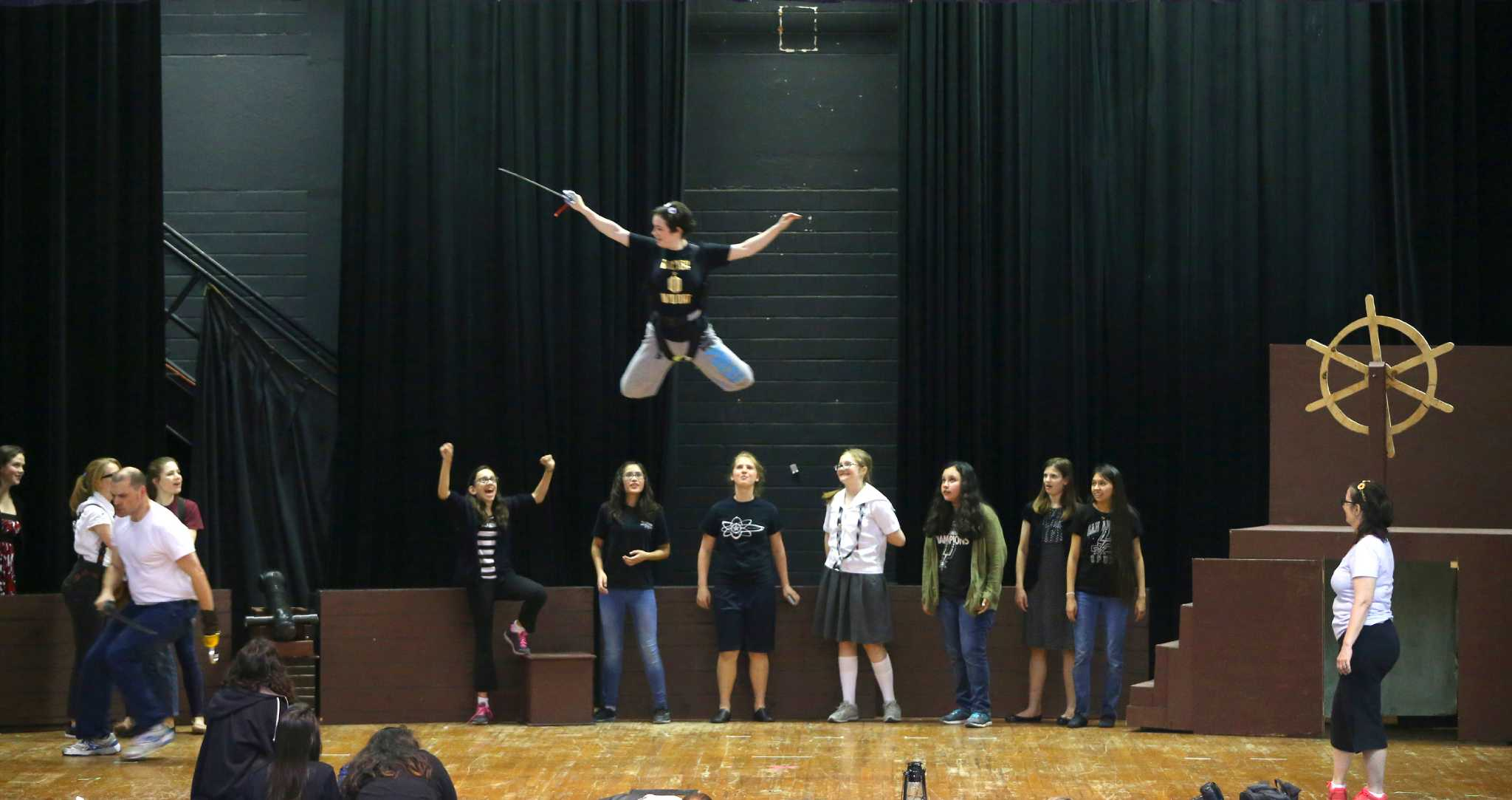 Students raise funds to make theater production of Peter Pan