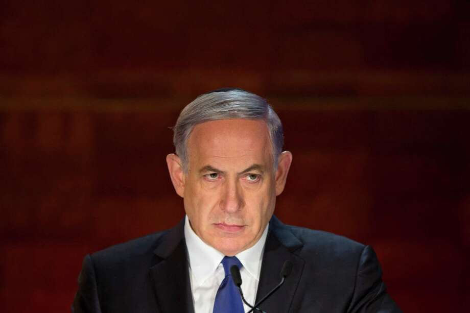 Prime Minister Benjamin Netanyahu said Iran must never get nukes. Photo: Sebastian Scheiner / Associated Press / AP