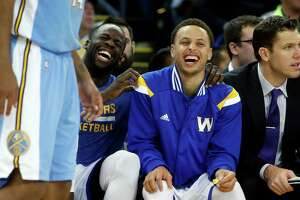 Steph, Draymond, and other awards - Photo