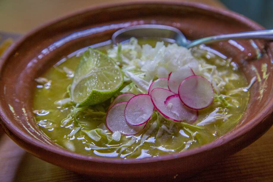 The Posole Verder with Chicken and Bacon at Pipila is San Francisco, Calif., is seen on April 15th, 2015. Photo: John Storey, Special To The Chronicle