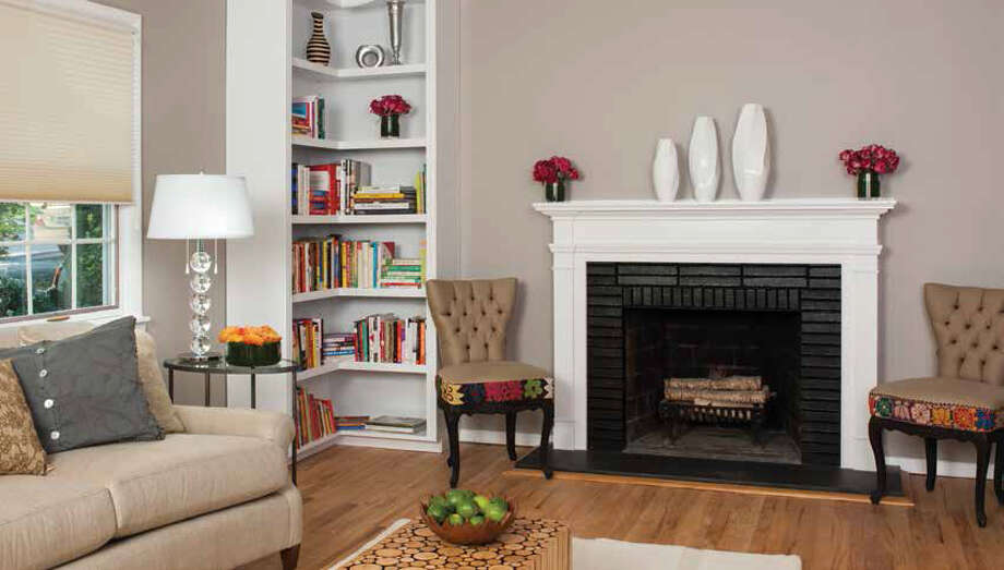 """Author and designer Robin Wilson advises allergy sufferers to eliminate carpeting and dust-catching knickknacks to breathe easier at home. Living room from """"Clean Design: Wellness for your Lifestyle"""" (Greenleaf Book Group, $22.95) by Robin Wilson. Photo: Courtesy Greenleaf Book Group"""