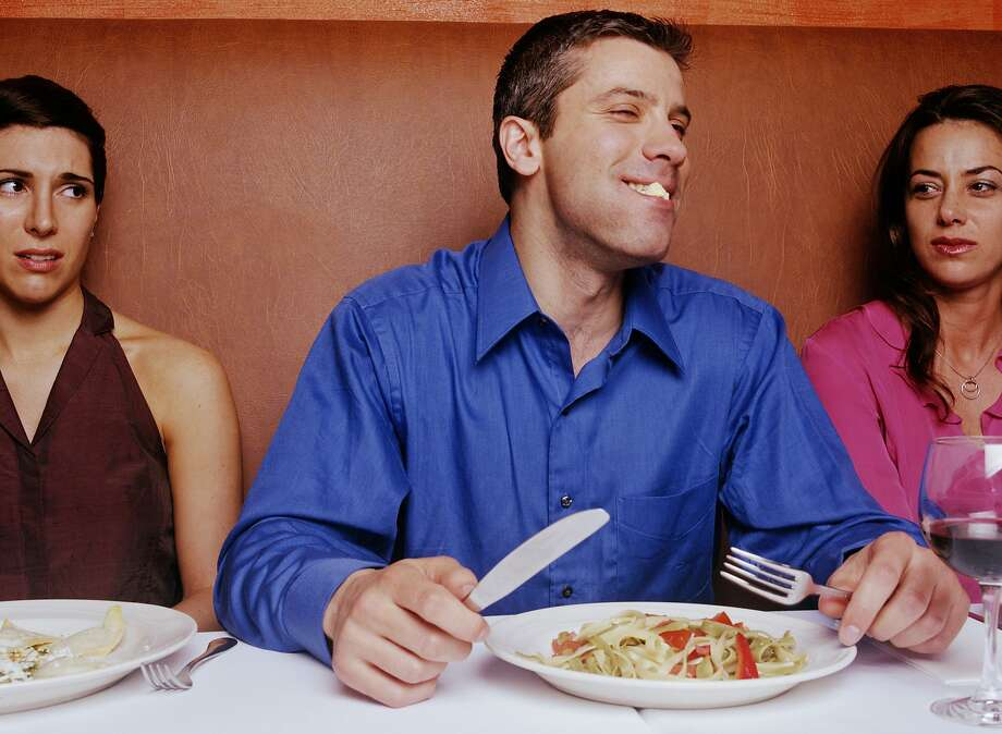 A rude friend constantly insults the cooking of a man's wife. Photo: Greg Ceo, Getty Images