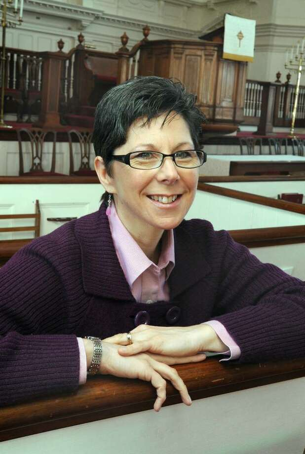 Rev. Laura Westby is the Pastor of the First Congregational Church on Deer Hill Ave. in Danbury. Photo: Carol Kaliff / The News-Times