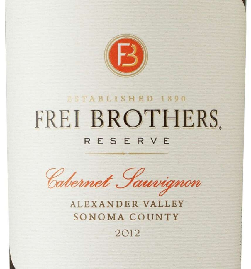 Frei Brothers Reserve Alexander Valley Sonoma County 2012 Cabernet Sauvignon Photo: Courtesy Photo / ONLINE_YES