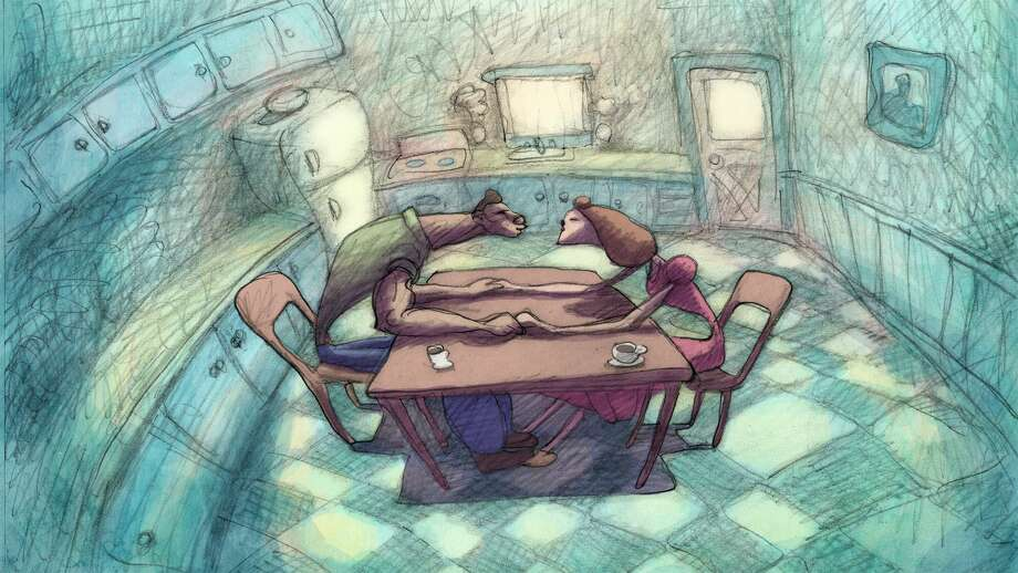 """""""Cheatin' """" feels like a short disguised as a feature. Photo: Bill Plympton / Plymptoons"""