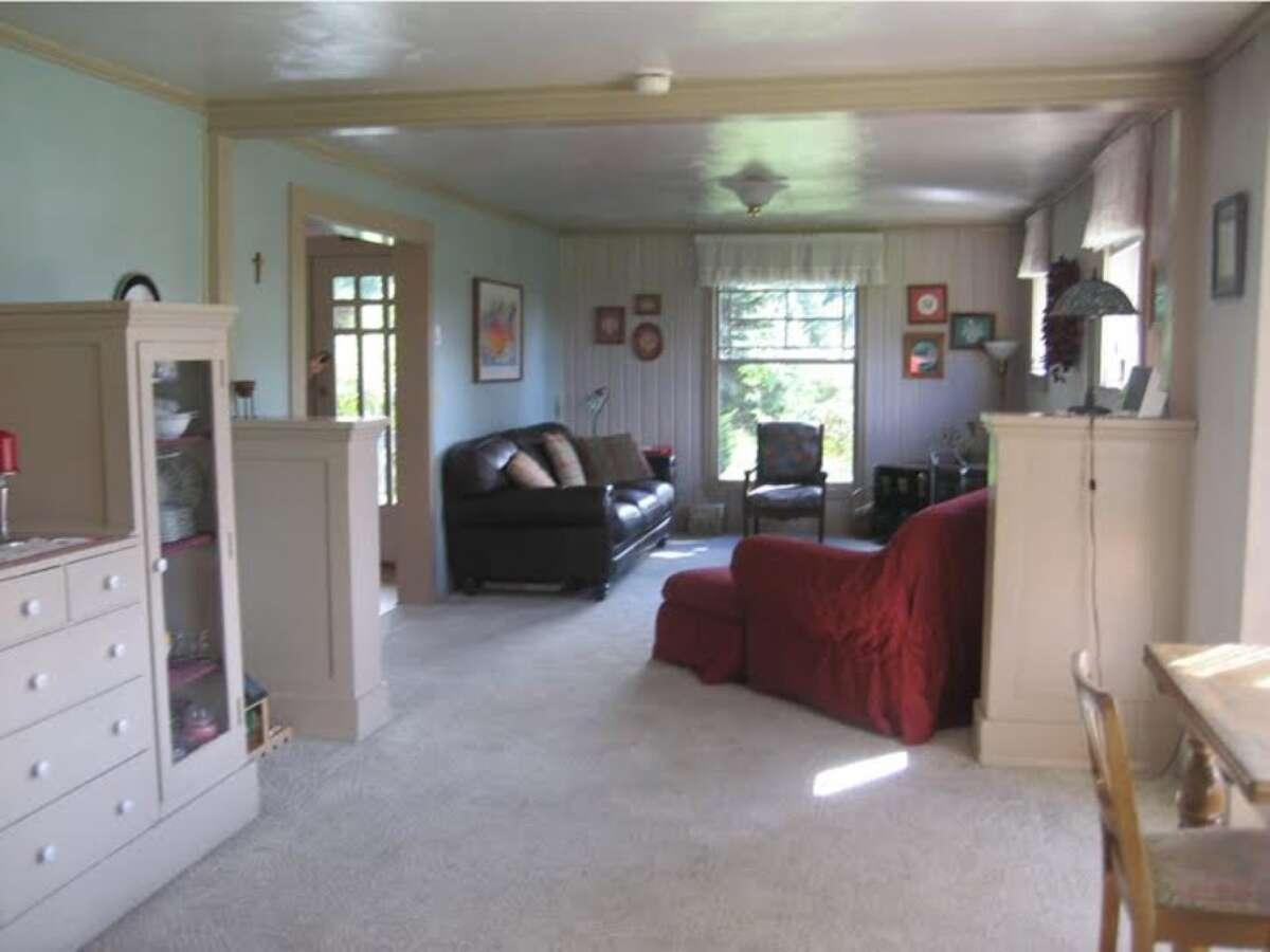 The living room in 775 K. St.