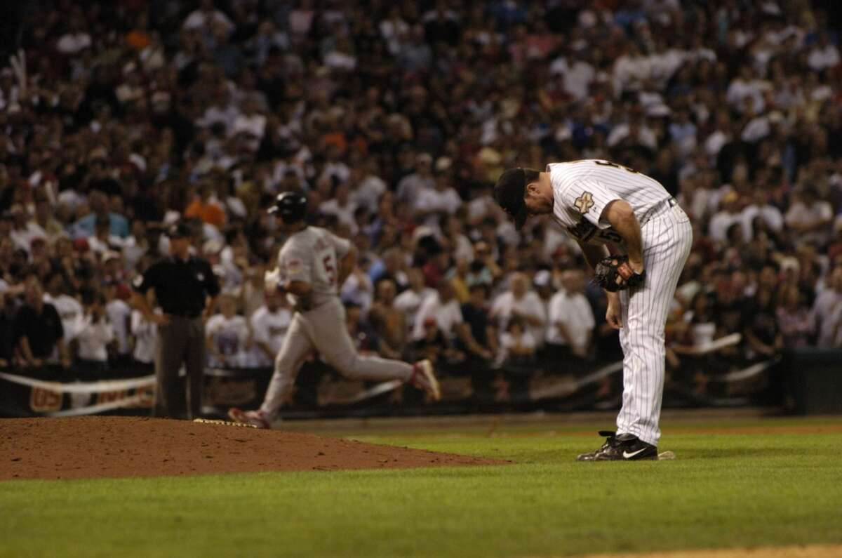 Minute Maid Park was rocking and the Astros were one out away from their first World Series when Cardinals star Pujols crushed a Brad Lidge offering well over the train tracks at Minute Maid Park for a stunning three-run homer in Game 5 of the NLCS. It silenced the ballpark like arguably no other moment in its history.