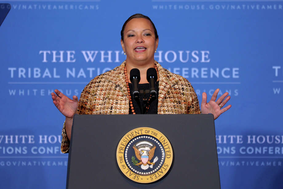 Lisa Jackson, the former EPA administrator, now leads Apple's environmental efforts. Photo: Susan Walsh / Associated Press / AP
