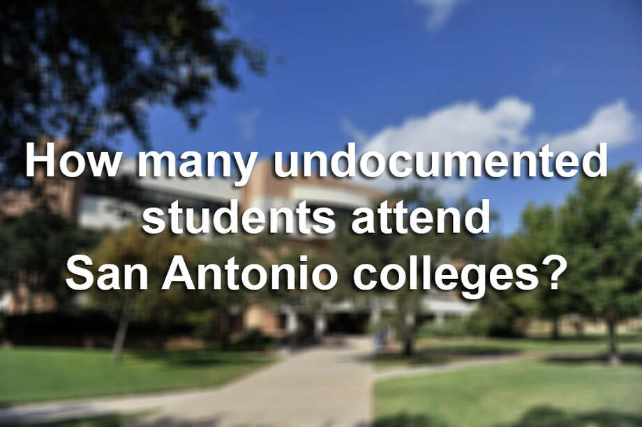 Scroll through the gallery to see how many undocumented students attended college in the San Antonio-area during the 2013-14 academic year. Photo: Robin Jerstad, File