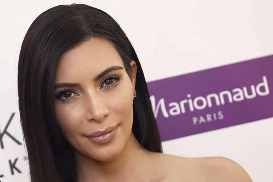 Kim Kardashian, reality TV star Photo: LOIC VENANCE, Getty Images  / AFP