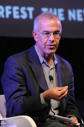 NEW YORK, NY - OCTOBER 19:  Policital commentator David Brooks speaks on stage at Income Inequality with David Brooks, Jacob Hacker, and Nelini Stamp Moderated by George Packer at the MasterCard stage at SVA Theatre during The New Yorker Festival 2014 on October 19, 2014 in New York City.  (Photo by Bryan Bedder/Getty Images for The New Yorker)