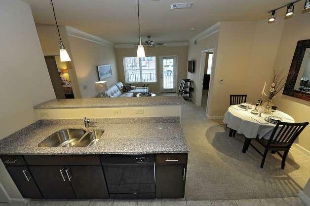 Model apartment in The Alexander at Patroon Creek on Friday, April 10, 2015 in Albany, N.Y. (Lori Van Buren / Times Union) Photo: Lori Van Buren / 00031373A