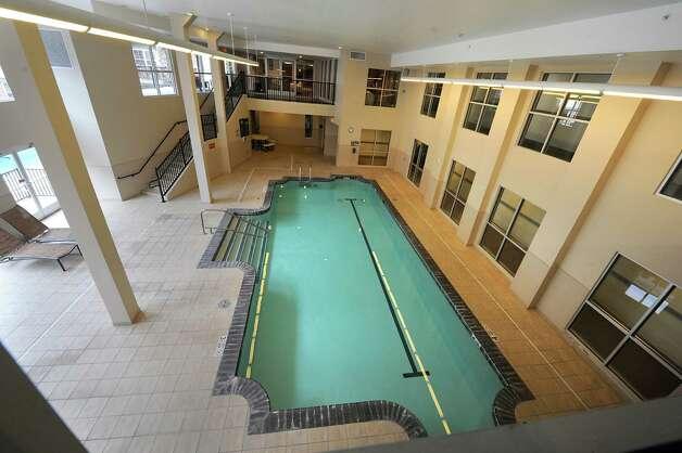 Indoor swimming pool at The Alexander at Patroon Creek on Friday, April 10, 2015 in Albany, N.Y. (Lori Van Buren / Times Union) Photo: Lori Van Buren / 00031373A