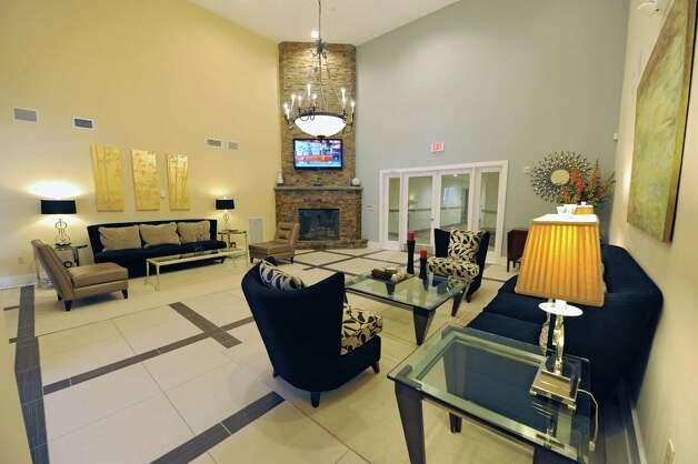 Common lobby room near front entrance at The Alexander at Patroon Creek on Friday, April 10, 2015 in Albany, N.Y. (Lori Van Buren / Times Union) Photo: Lori Van Buren / 00031373A