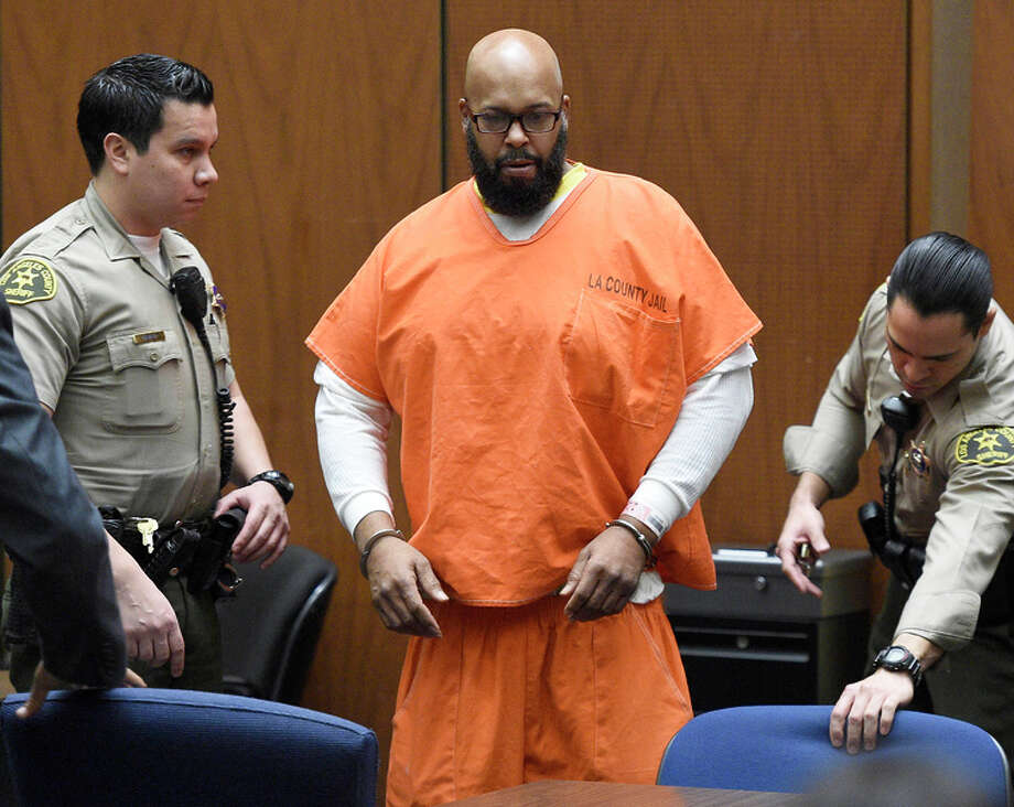 "Marion ""Suge"" Knight, seen in court last month, faces charges of murder and at temp ted murder. Photo: Kevork Djansezian / Associated Press / Pool Getty"