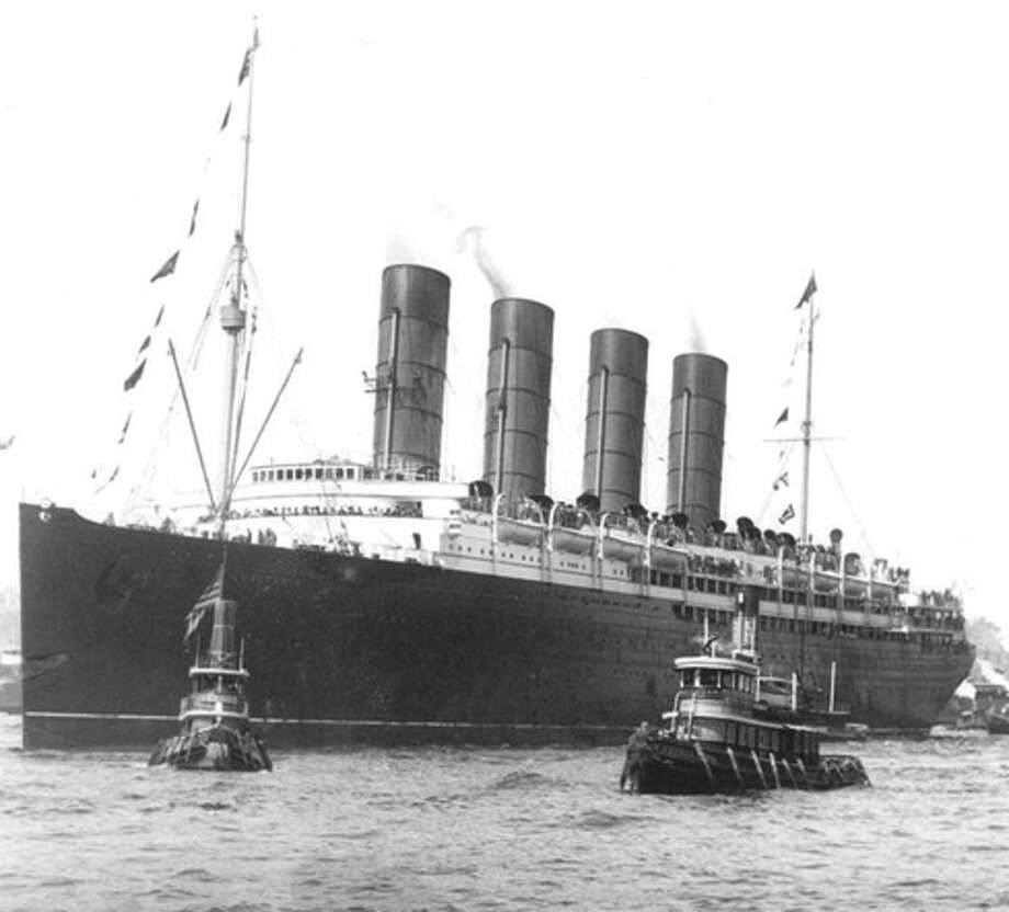 The doomed ship Lusitania. Photo: Wikipedia / ONLINE_YES