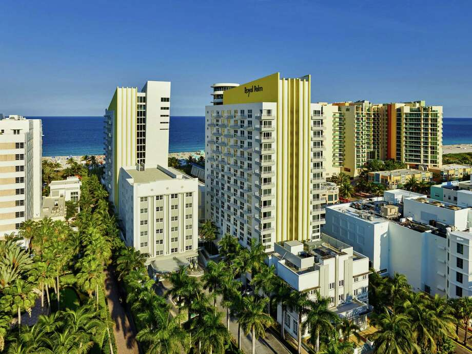 Starwood's newest brand, Tribute Portfolio, made its debut on Thursday, April 16, 2015, with its first featured hotel, the iconic Royal Palm South Beach Miami. (Photo: Business Wire) Photo: Contributed Photo / Connecticut Post Contributed