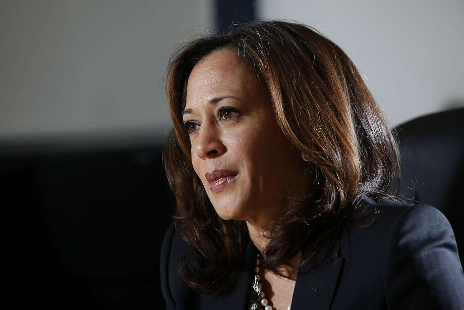 Attorney General Kamala Harris answers questions about her 2016 Senate run in San Francisco, Calif., on Thursday, April 16, 2015. Photo: Sarah Rice, Special To The Chronicle