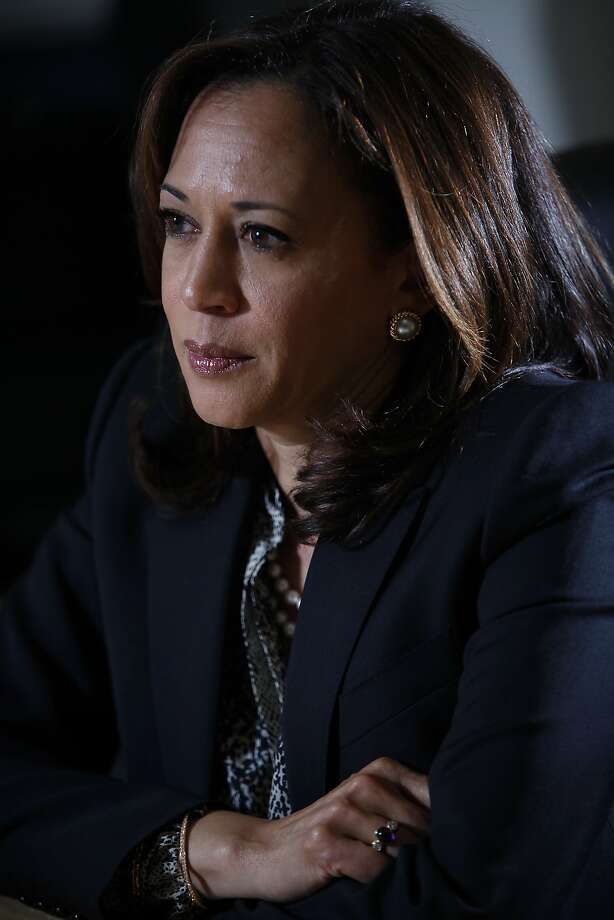 California Attorney General Kamala Harris announced that police will be trained to avoid unconscious bias.  Photo: Sarah Rice, Special To The Chronicle