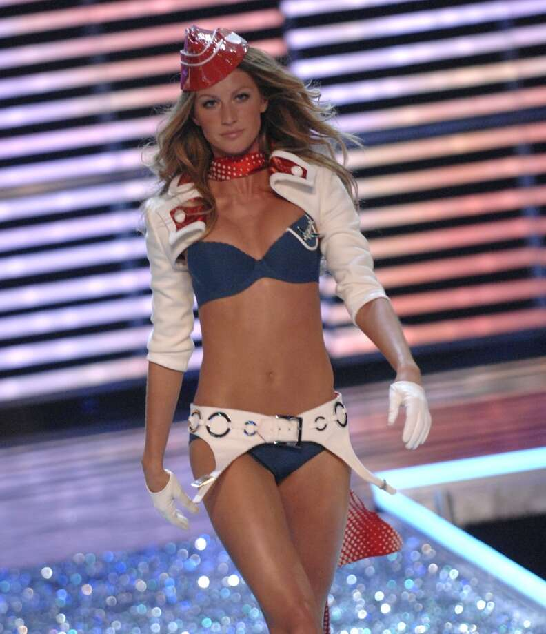 With her retirement from the runway on April 15, 2015, here's a look back at supermodel Gisele Bundchen on the runway since 2001.