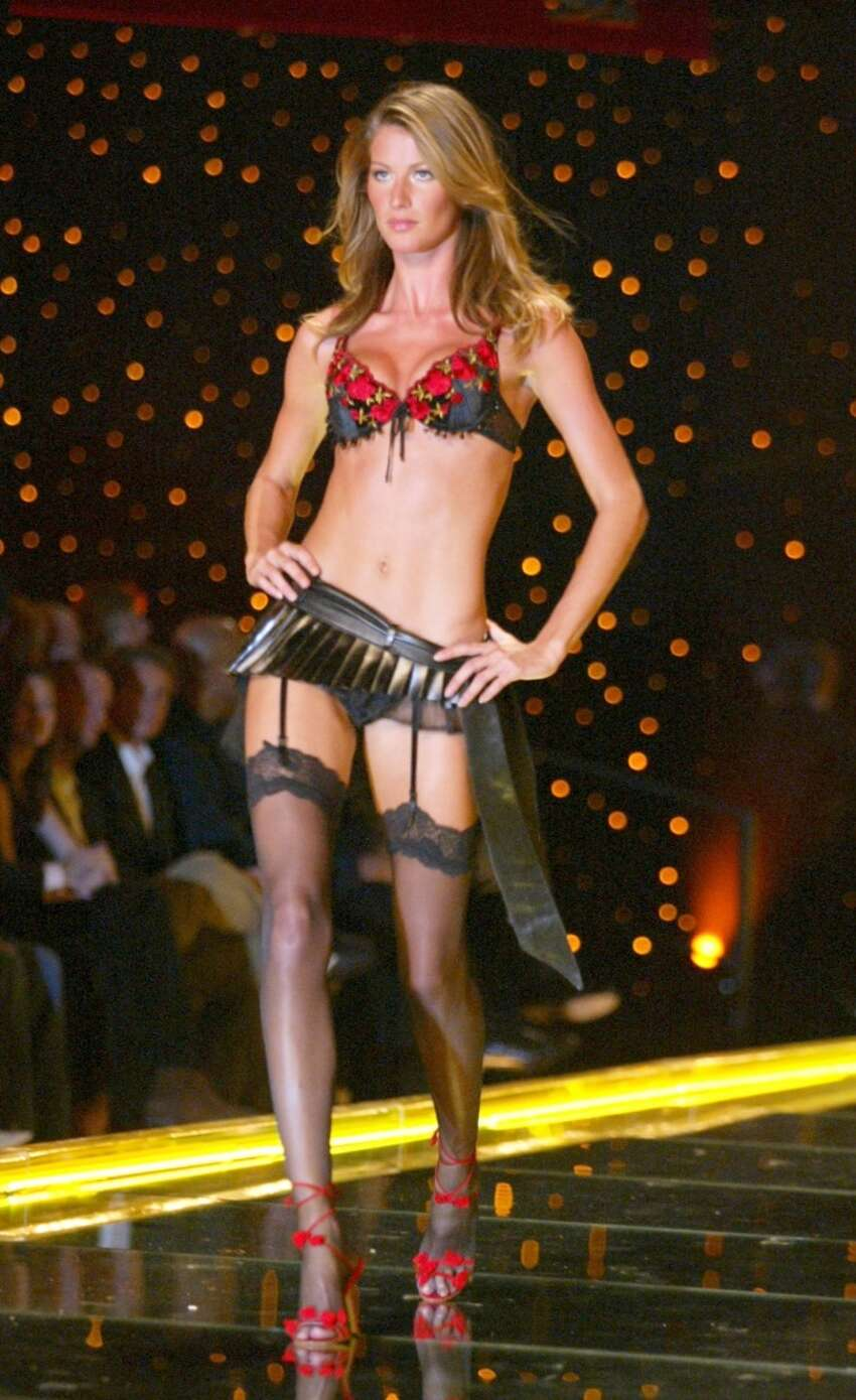 Gisele Bundchen during The 8th Annual Victoria's Secret Fashion Show - Runway at Lexington Avenue Armory in New York City, New York, United States.