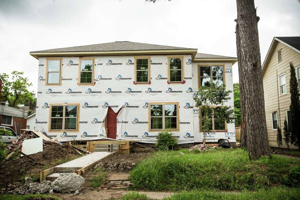 A home in the 3200 block of Calumet is shown on Monday, April 6, 2015, in Houston.