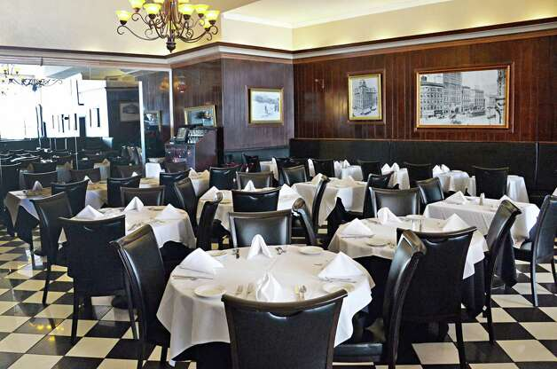 The main dining room at Jack's Oyster House on State Street Tuesday April 14, 2015 in Albany, NY.  (John Carl D'Annibale / Times Union) Photo: John Carl D'Annibale / 00031376A