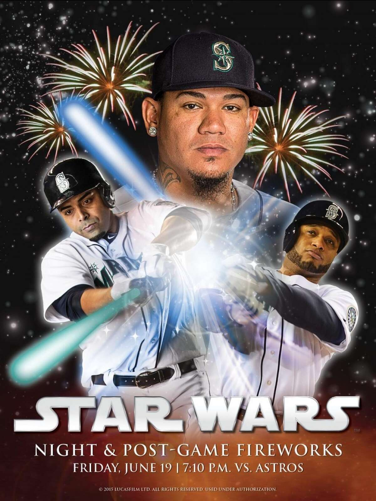 'Star Wars' Night The Force is finally coming to Safeco Field.