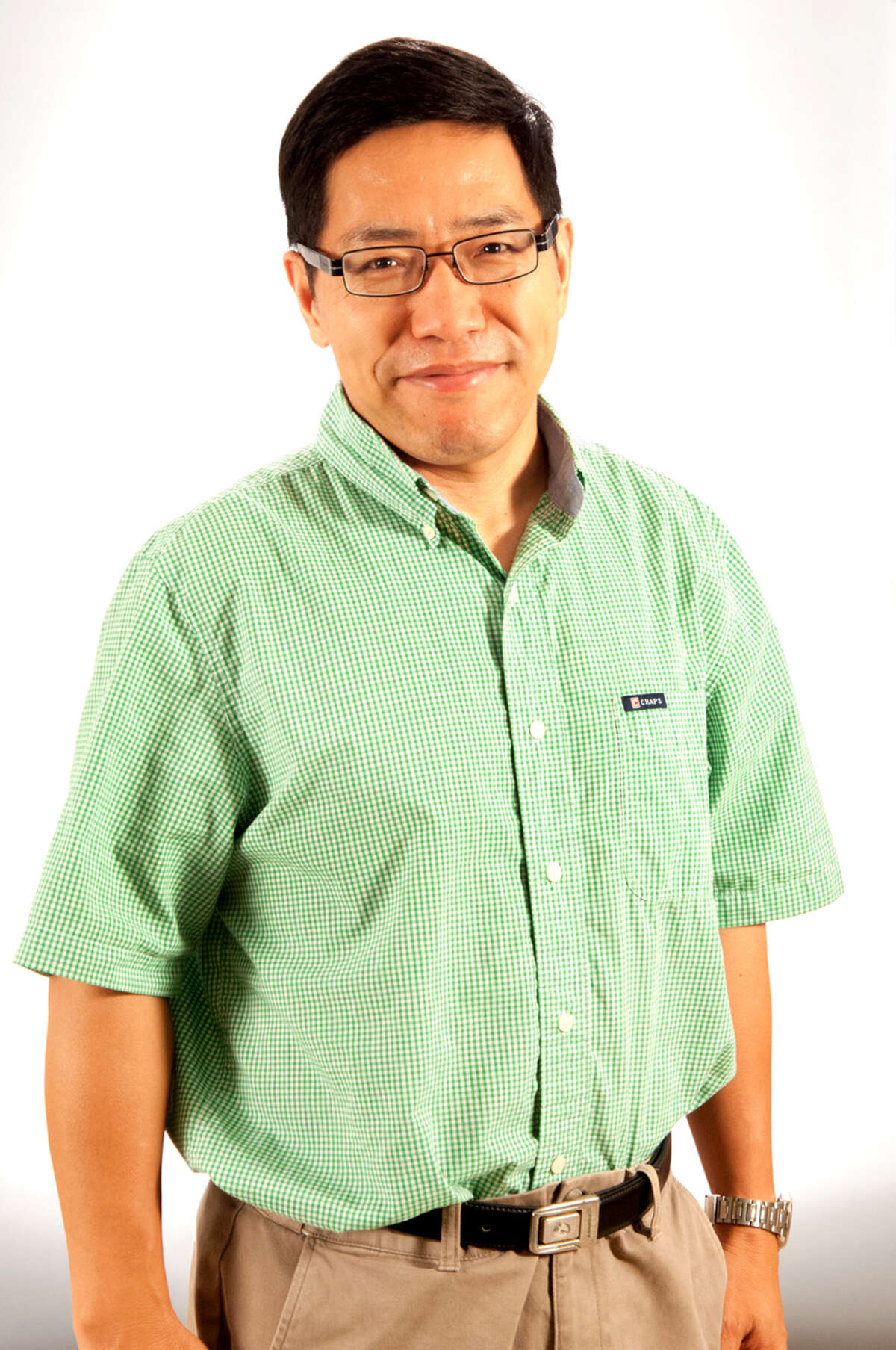Aiguo Dai, a climate scientist at the University of Albany, headed an international research team that found parts of the tropical Pacific Ocean have been masking the surface temperature increases of ongoing climate change, and that the effect will reverse itself and release a new round of temperature spikes in the coming years. Photo courtesy of Mark Schmidt / University at Albany