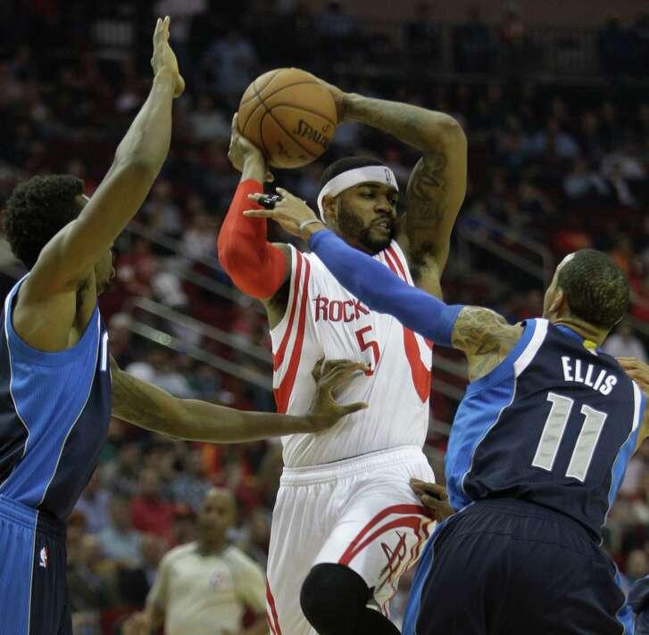 Josh Smith (5) Will Be Among The Rockets Many Playoff