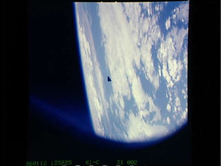 The space mystery picture from NASA ...No one was saying it was an alien, but this photo was going around again last year and  caused at least one  publication to wonder – UFO?Check out the full story!